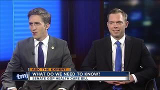 Ask the Expert: Senate GOP Health Care Bill - Video