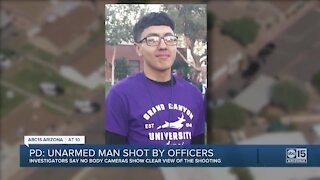 Unarmed man shot by officers