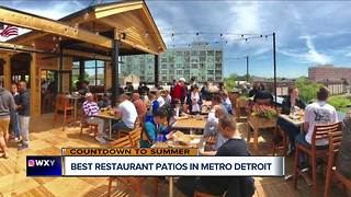 Best patios in metro Detroit