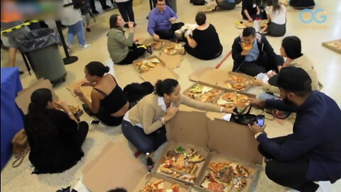 Biggest Pizza Party Helps Feed The Hungry