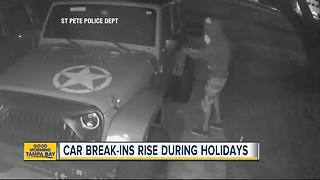 Car break-ins in Bay Area on rise during holidays - Video