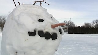 State champion snow sculptor shares tips to create the perfect snowman