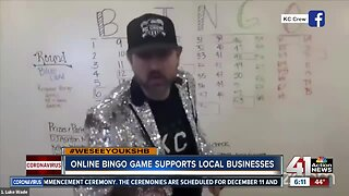 Online bingo game supports local businesses
