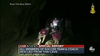 SPECIAL REPORT | All 12 boys and coach successfully rescued from Thailand cave - Video