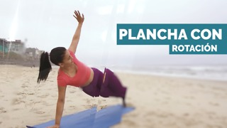 Plancha con rotación - Video