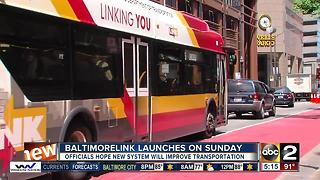 Preparing for switch to BaltimoreLink bus system - Video