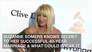 Suzanne Somers Knows Secret to Her Successful 40-Year Marriage & What Could Break it - Video
