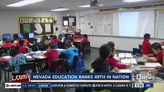 Report: Nevada education remains at 49th in nation - Video