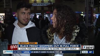 People start shopping early on Black Friday