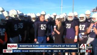 Robertson runs away with Athlete of the Week - Video