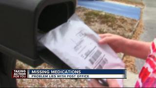 Life saving medicines go missing, problem lies with post office - Video