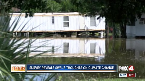Survey: Climate change concerns most people in Southwest Florida