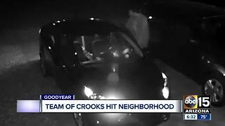 Valley neighborhood targeted by car thieves - Video