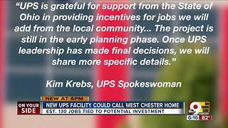 UPS eyes building in West Chester Township - Video