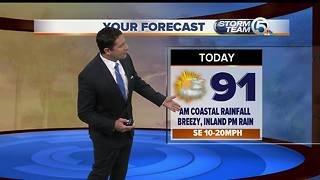 South Florida Monday morning forecast (8/7/17) - Video