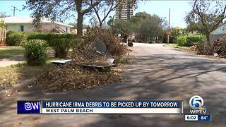 Hurricane Irma debris pickup coming to an end - Video