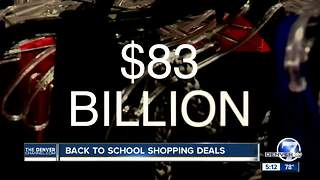 Back-to-school shopping deals - Video