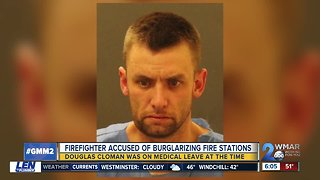 Firefighter on leave arrested after stealing chainsaw from firehouse