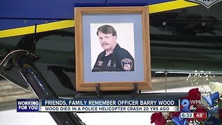 Friends, Family Remember Flight Officer Barry Wood, 20 years after deadly chopper crash