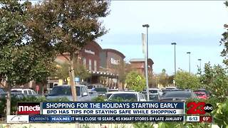 Holiday shopping safety tips from BPD - Video
