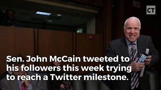 McCain Recieves a Rude Awakening - Video