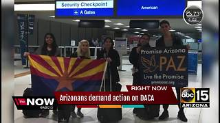 Arizonans demand action on DACA - Video