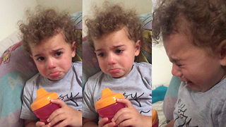 'Jesus wants me!' – Adorable moment two year old cries for Christ - Video