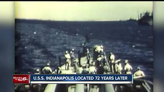 USS Indianapolis located 72 years later - Video