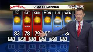 13 First Alert Weather for October 13 2017 - Video