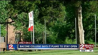 Bacone College will not be closing - Video