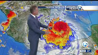 Hurricane Franklin strengthens - Video