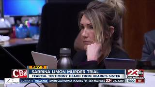 Day 3 of the Sabrina Limon murder trial: Jonathan Hearn's family testifies - Video