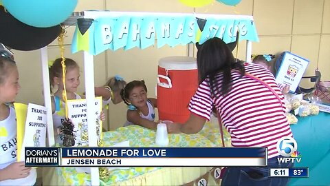 Lemonade For Love fundraiser held in Jensen Beach