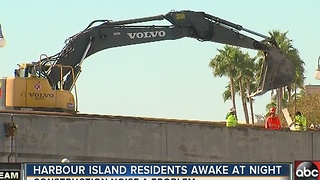 Noise keeps residents awake in Harbour Island - Video