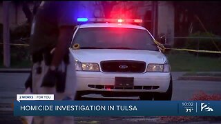 TPD: Officers Investigating Homicide in North Tulsa