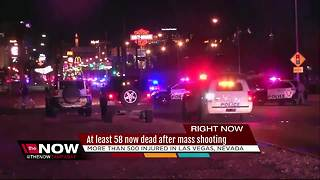 At least 58 now dead after mass shooting - Video