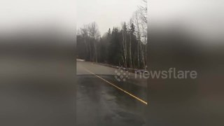 Flash flooding hits Atlantic Canada - Video