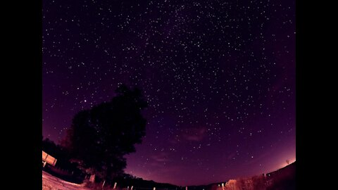 #5k Sky Lapse With The GoPro 9 - See the stars in better than #4k