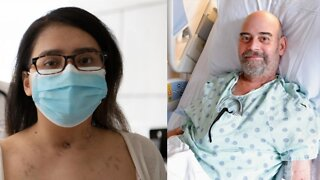Patients Share Stories Of Double Lung Transplant After COVID-19