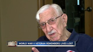 World War II veteran remembers lives lost