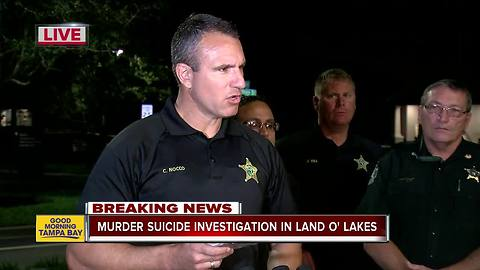 Sheriff: Hillsborough County deputy shoots and kills his wife before committing suicide