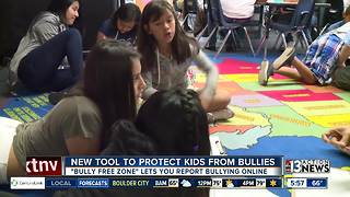 New tool to protect kids from bullies - Video