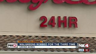 Walgreens Robbed For The Third Time - Video