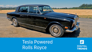 Johnny Cash's 1970 Rolls-Royce reborn as an electric car