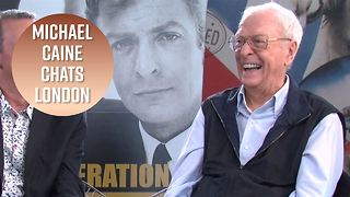 Michael Caine loves London so much it's adorable - Video