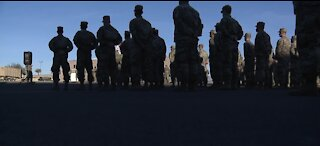 Nevada National Guard troops arrive in D.C.
