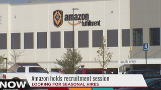Amazon hiring for seasonal, work-from-home jobs - Video