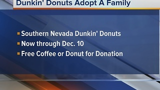 Dunkin' Donuts teams with Nevada Childhood Cancer Foundation