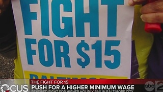 Baltimore City councilwoman continues fight for $15 minimum wage - Video