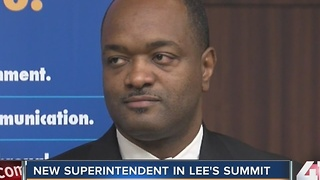 Lee's Summit names new superintendent - Video